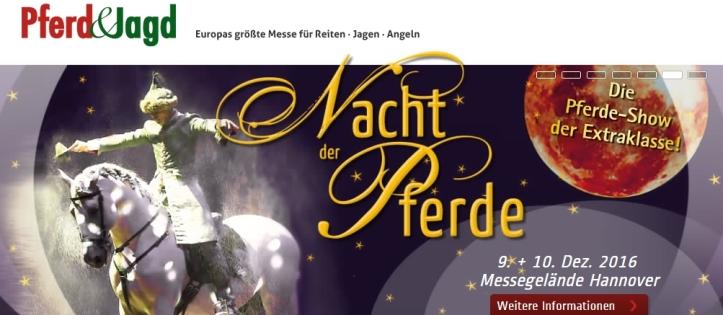 PFERD & JAGD 2016 Trend Pferde Ausstellung Messe Horse Expo Event International